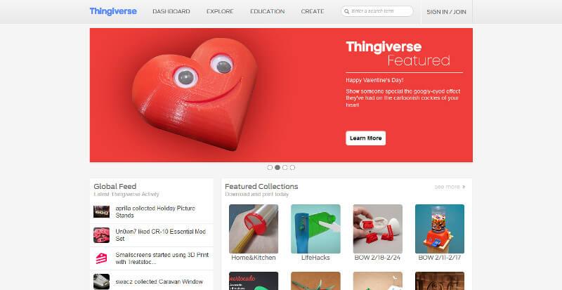página-principal-thigiverse
