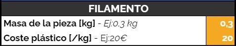 coste-filamento-impresora-3d