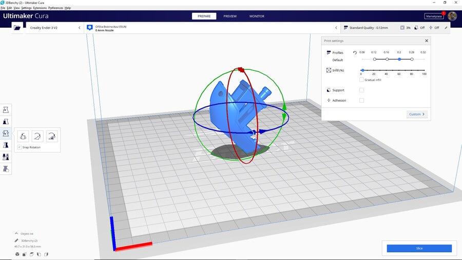 rotación-transformaciónes-pieza-3d