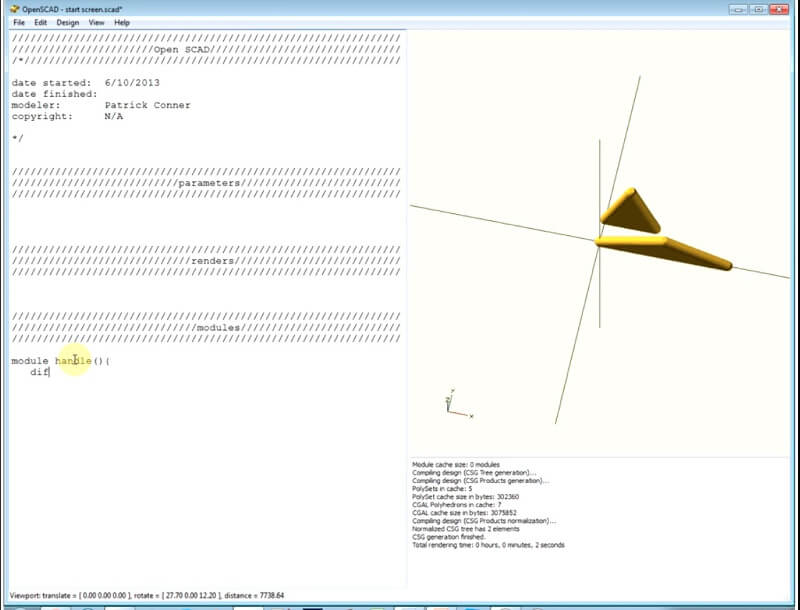 software-impresora-3d-openscad