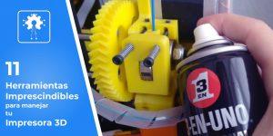 herramientas para impresora 3D