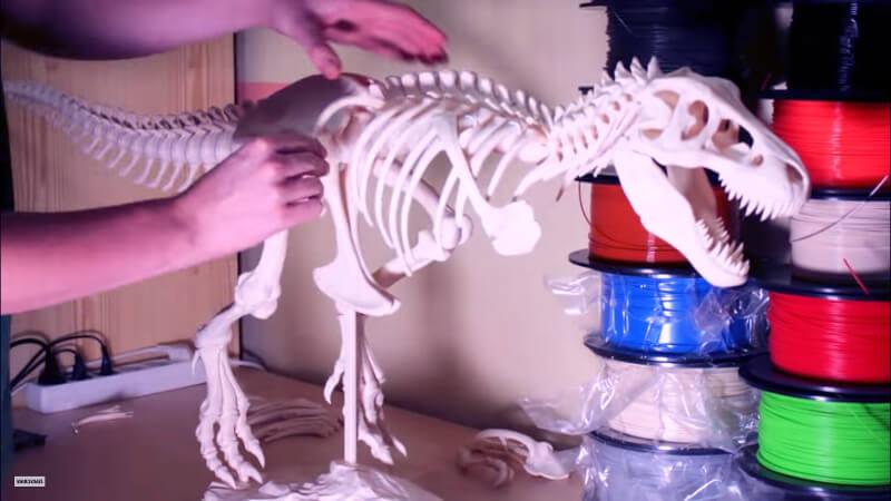 t-rex-impreso-en-3D