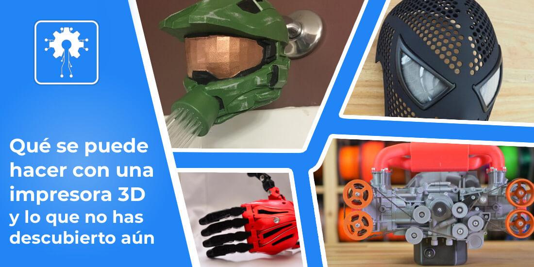 usos impresora 3d