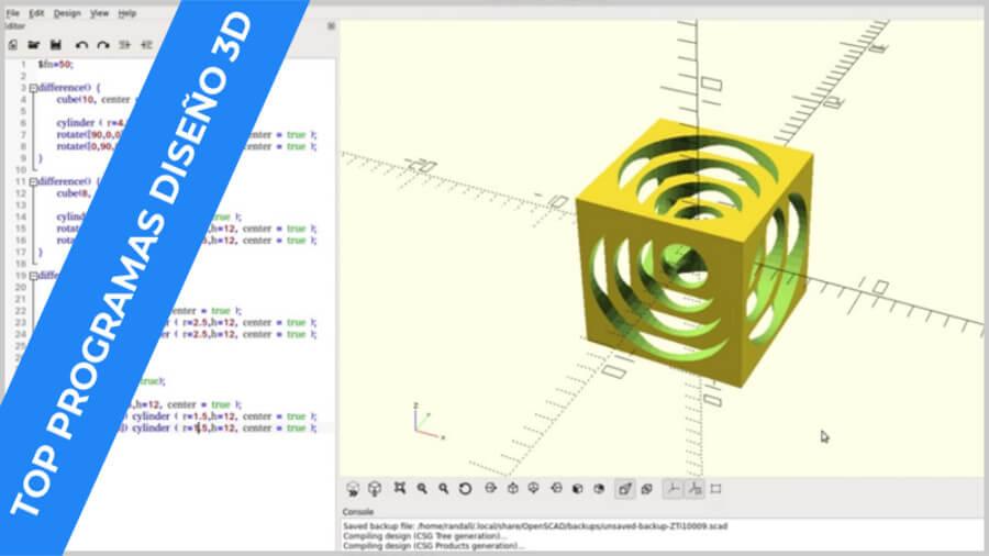 openscad-mejor-programa-diseño-3d