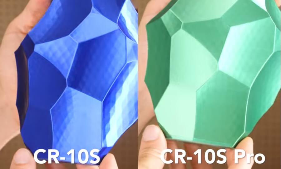 Comparativa CR10-S y CR-10S Pro