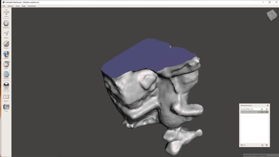 corte-plano-en-la-base-escaneado-3d